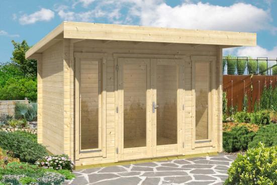 Abri de jardin BARBADOS Mini 44mm - 7,41m² intérieur