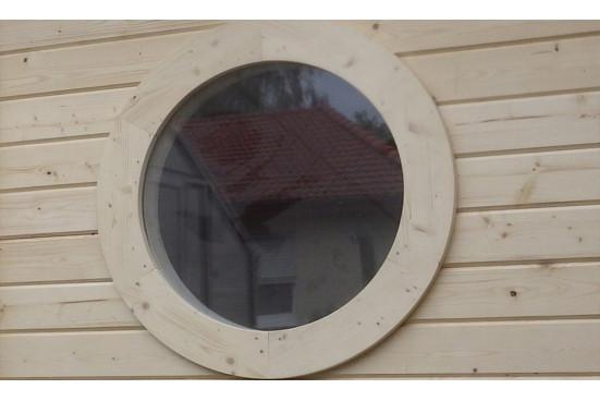 Abri de jardin CARQUEFOU C 44 mm - 8.20 m² intérieur + 3.3 m²