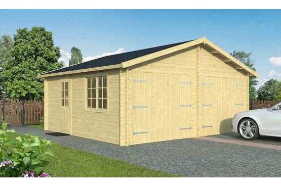 Garage carport en bois DAX 44mm