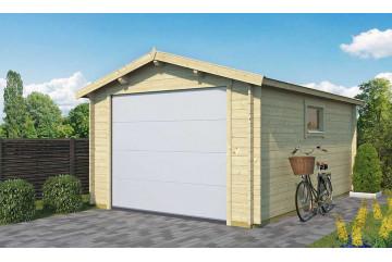 Garage LIMOUSIN Porte sectionnelle 34mm - 15,3m² intérieur