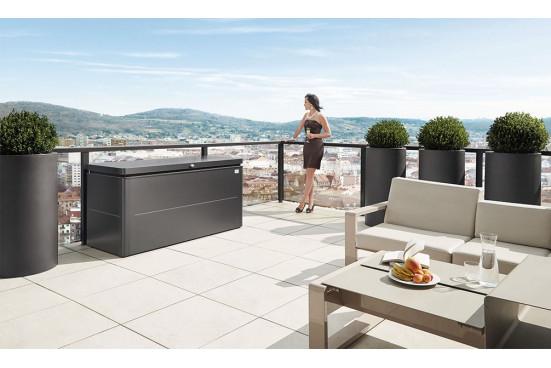 Coffre de jardin LoungeBox Biohort 160x70x83.5cm