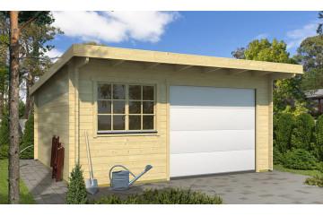 Garage Atelier Leucate B 44mm porte sectionnelle - 22.96 m² intérieur