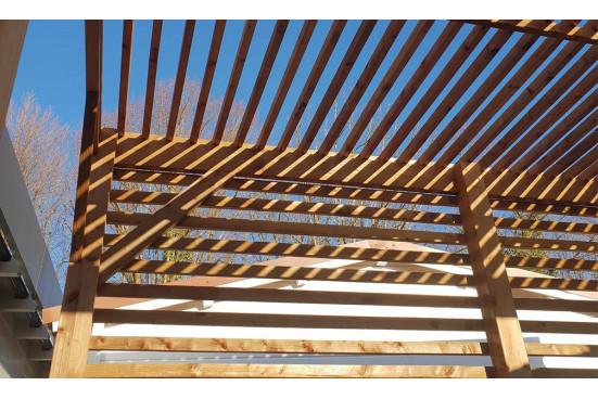 Pergola - 9.75 m² - 250 x 390 cm
