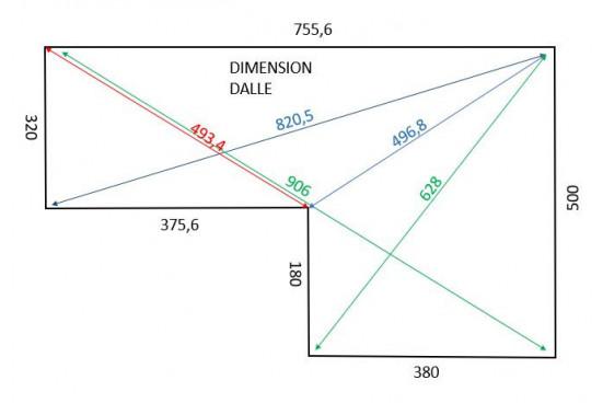 Abri de jardin LUXEMBOURG 44 mm - 11,6m² + 18,2m²