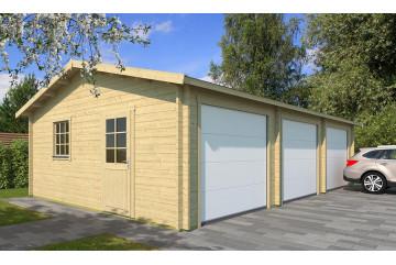 Garage MONTAUBAN Portes sectionnelles 44mm - 48.9m² intérieur
