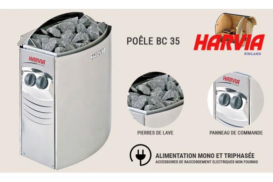 Poêle Harvia BC 35 pour sauna