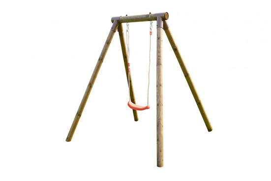 Petit portique pour enfants en bois traité autoclave Hanna - 1 agrès