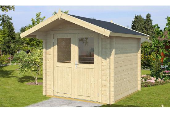 Abri de jardin Menton 68mm CC - 4.24m² intérieur