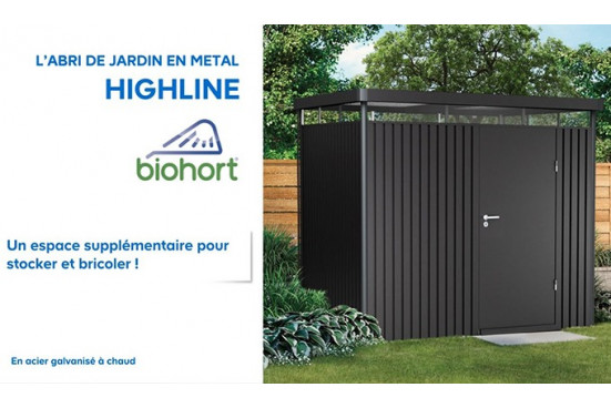 Abri de jardin Highline Biohort