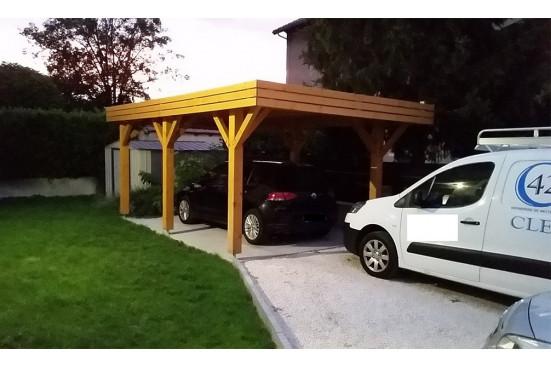Garage carport - 23,4m² couvert