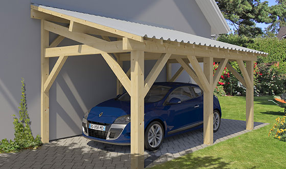 CARPORTS ADOSSABLES